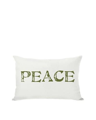 One Bella Casa Peace Reversible Pillow