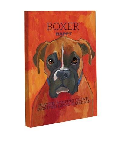 """One Bella Casa """"Boxer 2"""" Giclée Canvas Wall Décor"""