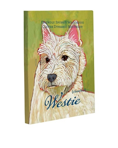 "One Bella Casa ""Westie 1"" Giclée Canvas Wall Décor"