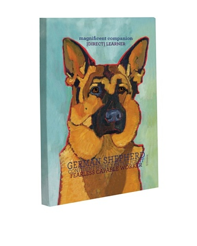 "One Bella Casa ""German Shepherd 1"" Giclée Canvas Wall Décor"