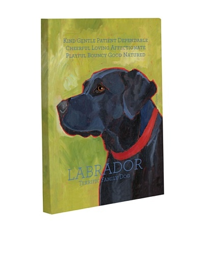 "One Bella Casa ""Labrador 1"" Giclée Canvas Wall Décor"