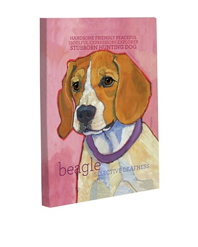 "One Bella Casa ""Beagle 1"" Giclée Canvas Wall Décor"