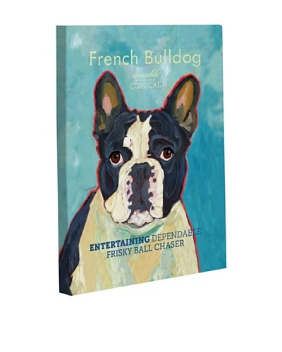 "One Bella Casa ""French Bulldog 2"" Giclée Canvas Wall Décor"