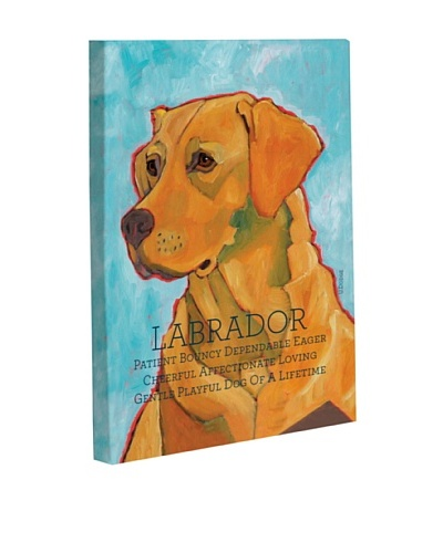 One Bella Casa Labrador 3 Giclée Canvas Wall Décor