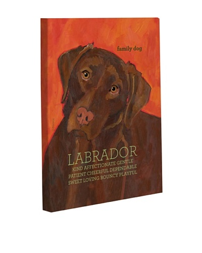 One Bella Casa Labrador 2 Giclée Canvas Wall Décor
