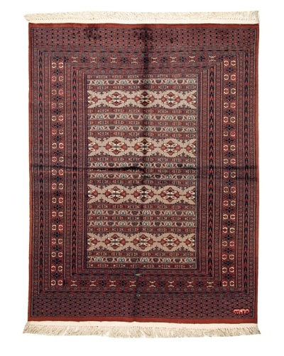 One of a Kind Hand-Knotted Cashmere Rug [Multi]