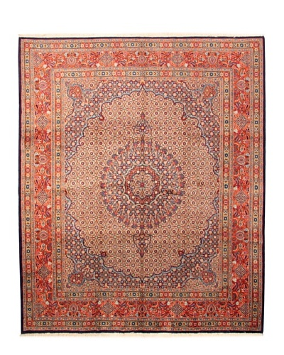 One of a Kind Antique Mud Tribal Rug