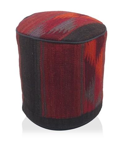 Momeni One-of-a-Kind Hand-Made Kilim Ottoman