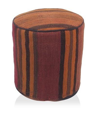 Momeni One-of-a-Kind Hand-Made Kilim Ottoman