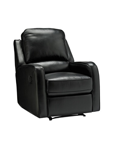 Onyx Philly Recliner, Black