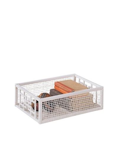 Organize It All Solar Rectangular Basket