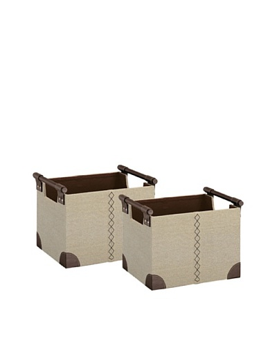Organize It All Set of 2 Riviere Straight Baskets