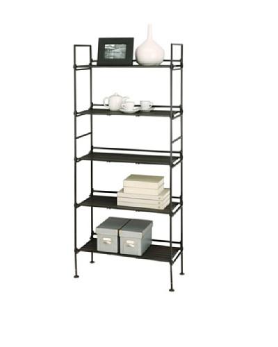 Organize It All Ebonize 5-Tier Shelf