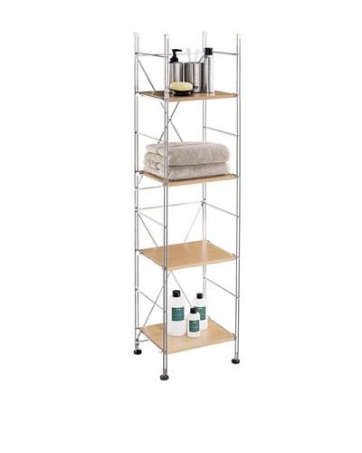 Organize It All 4-Shelf Towel Tower
