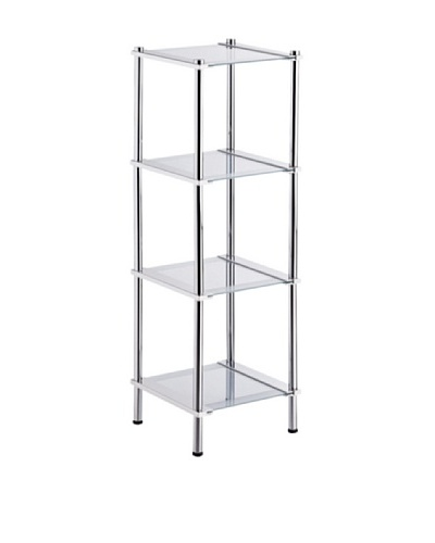 Organize It All 4-Tier Shelf
