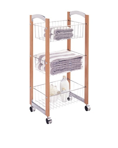 Organize It All 3-Tier Storage Cart