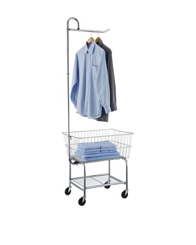 Organize It All Chrome Laundry Center (17167W-1)