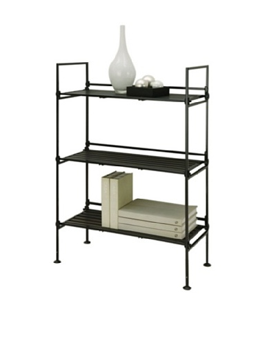 Organize It All Ebonize 3-Tier Shelf