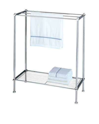 Organize It All Metro Towel Rack, Chrome