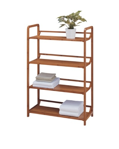 Organize It All Lohas 4 Tier Shelf