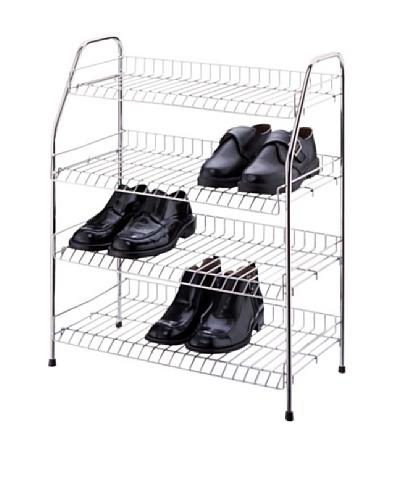 Organize It All 4-Tier Chrome Storage Shelf