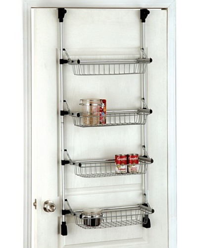 Organize It All Basic Overdoor 4-Basket Unit