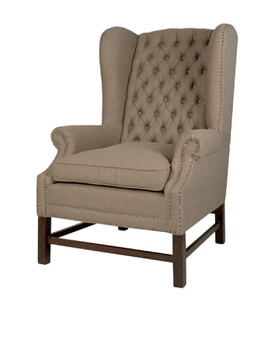 Orient Express Haven Club Chair, Oak