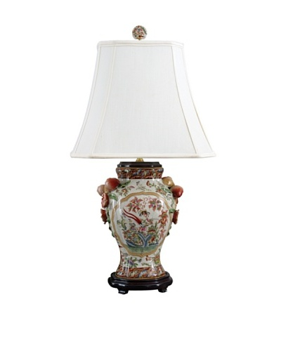Oriental Danny Regency Vase Table Lamp