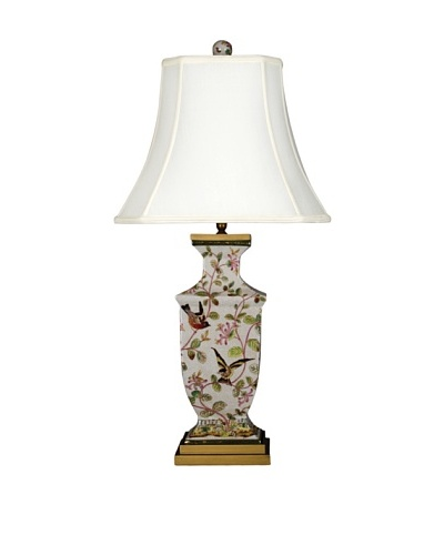 Oriental Danny Willow Bird Table Lamp