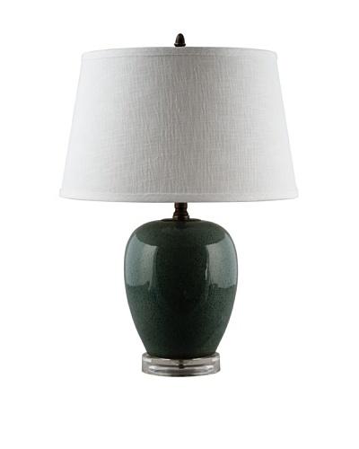 Oriental Danny Melon Jar Table Lamp