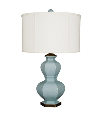 Oriental Danny Blue Gourd Table Lamp