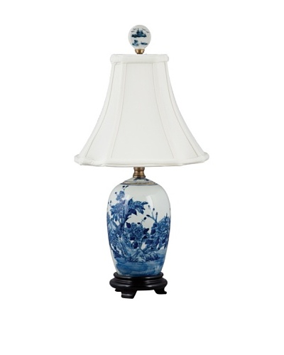 Oriental Danny Lidded Jar Table Lamp