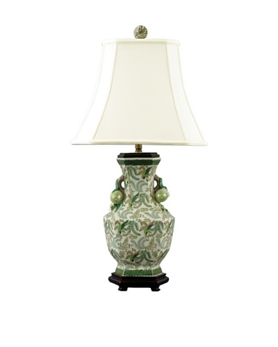 Oriental Danny Hex Vase Table Lamp