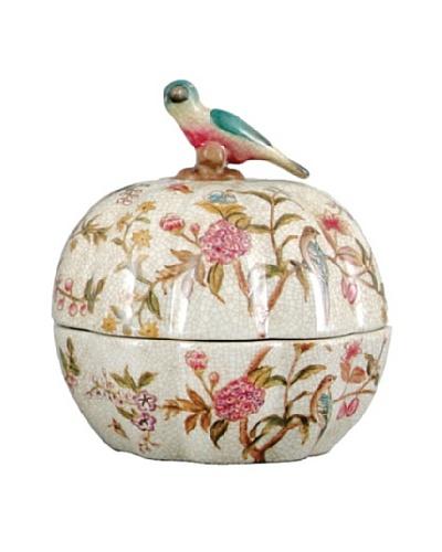 Oriental Danny Emma Garden Porcelain Round Box