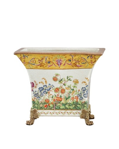 Oriental Danny Wild Breeze Rectangular Porcelain Planter