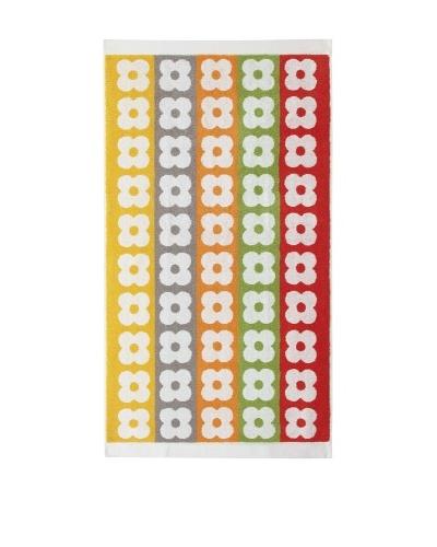 Orla Kiely Multi Flower Stem Large Towel, Multi