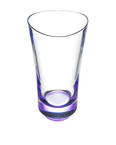 Orrefors Set of 2 Tre Highball Glasses, Violet