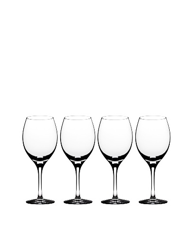 Orrefors Set of 4 Illusion Iced Beverage Glasses