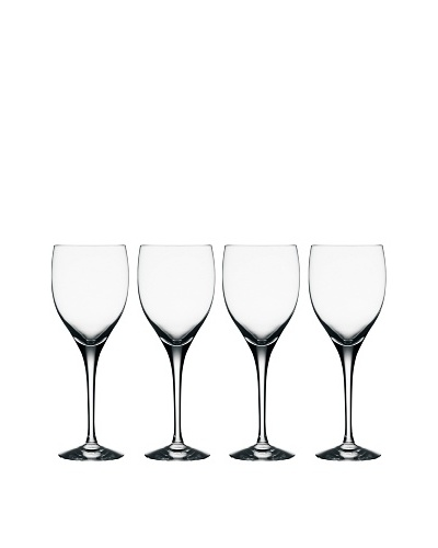 Orrefors Set of 4 Illusion Goblets