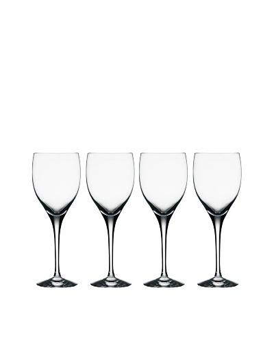 Orrefors Set of 4 Illusion Goblets