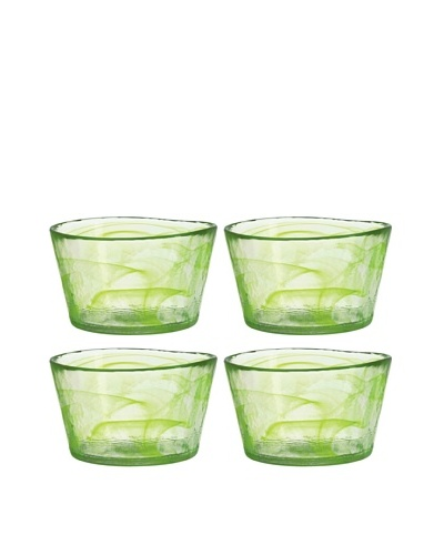 Orrefors Set of 4 Small Mine Bowls