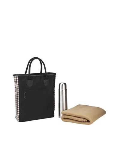 Picnic at Ascot Coffee and Blanket tote