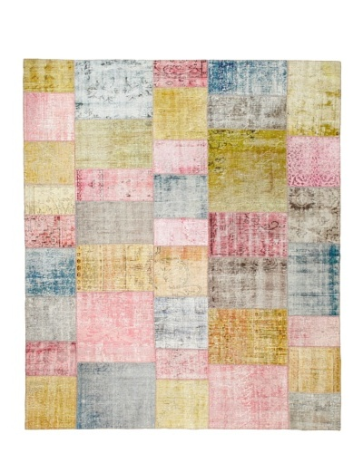 One Of A Kind Overdyed Rug, Pastel Multi, 8' 4 x 12 1