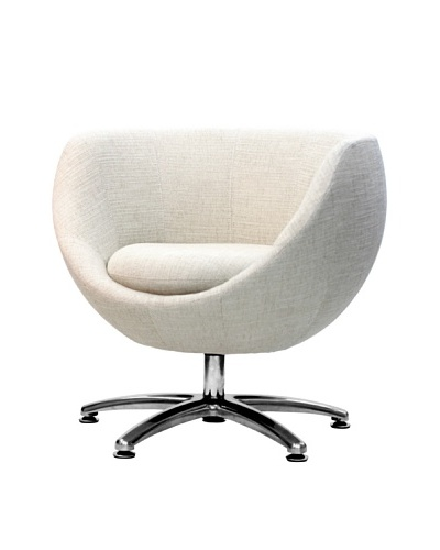Overman International Five Prong Base Globus Chair, Oatmeal