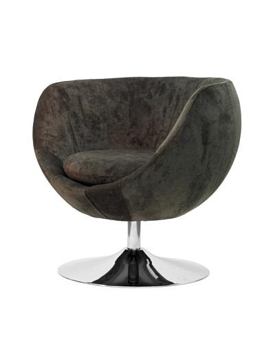 Overman International Disc Base Globus Chair, Brown