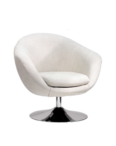 Overman International Disc Base Comet Chair, Oatmeal