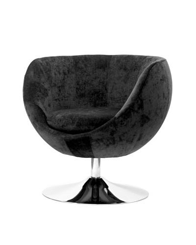 Overman International Disc Base Globus Chair, Dark Grey