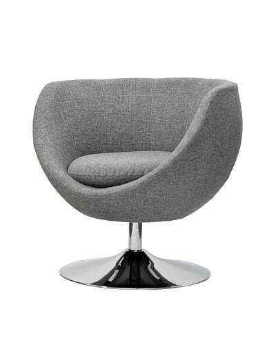 Overman International Disc Base Globus Chair, Light Grey