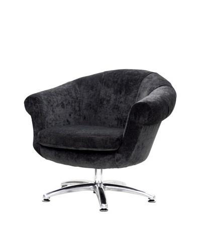 Overman International Five Prong Twist Chair, Dark Grey
