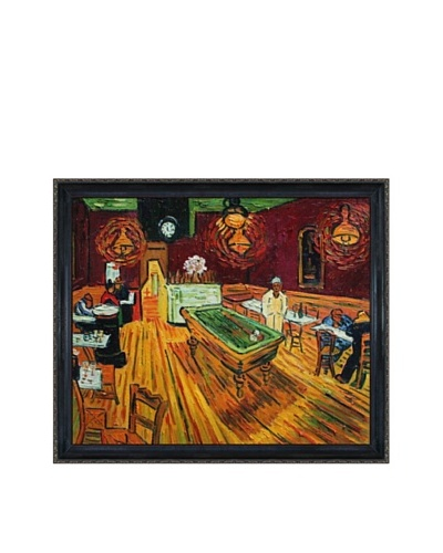 Vincent Van Gogh The Night Café Framed Oil Painting